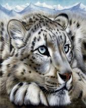 Q-D6.1 GX579 Diamond Painting Set Tiger 40x30cm