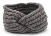 R-A8.1 H401-001D Knitted Headband Grey