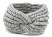 R-B7.2 H401-001C Knitted Headband Grey