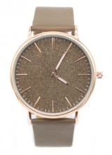 B-D16.1 WA422-001 Quartz Watch with Glitters 43mm Brown