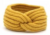 R-F8.1 H401-001J Knitted Headband Yellow