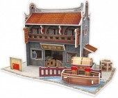 G-C12.2 W3181H 3D Puzzle Chinese Restaurant China - 38pcs