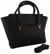 T-P5.1 BAGE-858 Leather Bag 41x24x12cm Black