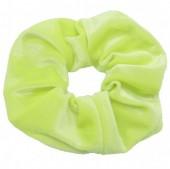 S-E5.3 H305-009A13 Velvet Scrunchie Yellow