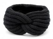 Z-A2.1 H401-001A Knitted Headband Black