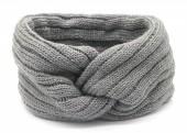 S-I1.3 H401-010D Knitted Headband Grey
