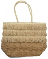 Z-C2.2 BAG324-008 Straw Shopper 48x34x17cm