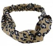 S-J1.3 H305-144A5 Headband Leopard Print Light Brown