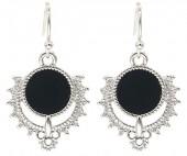 C-A7.5 E2019-031S Earrings 3x1.5cm Silver