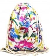 Z-A3.5 BAG542-008B Backpack Shiny Palmtrees