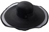 Q-N7.1  HAT504-006C Hat with Anchor Black
