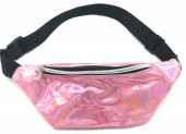T-E6.1 BAG524-004A Waist Bag Metallic Pink