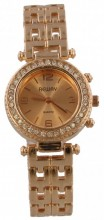 G-C23.2 Quartz Watch with Crystals Rose Gold