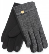 S-B3.5 GLOVE403-006C Gloves for Men Dark Grey