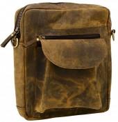 Q-H8.1  BAGI-045 Luxury Leather Cross Body Bag 32x28cm