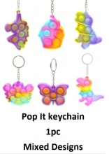 R-M3.1 KY2137-009 Pop It Keychain - Mixed Designs - 1pc