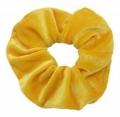 S-E6.1  H305-009U Velvet Scrunchie Yellow