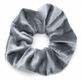 S-E6.3 H305-009 Scrunchie Velvet Grey