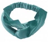 S-A3.3 H305-060A1 Velvet Headband Petrol Blue