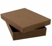 Y-A5.3 Giftbox for Necklace 12x16x3cm Dark Brown