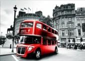 R-N3.1 X506 Diamond Painting Set English Bus 40x30cm