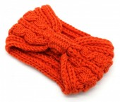 T-J2.1 H401-007C Knitted Headband Orange