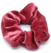 S-C3.1 H305-009A8 Velvet Scrunchie Purple
