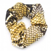 S-C5.1 H305-011 Scrunchie Snake Yellow