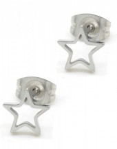 A-B18.3  E1842-005 Stainless Steel Studs Star Silver