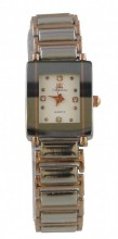 B-F20.2 Quartz Metal Watch 35x25mm Rose Gold -Silver