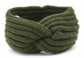 T-A3.2 H401-001G Knitted Headband Green